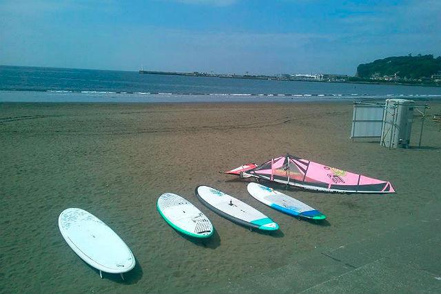【江ノ島・SUP】風のある日におすすめ!SUPでウインドサーフィンプラン