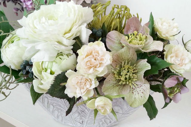 【札幌・白石区・フラワーアレンジメント】季節のお花に触れる喜び。シーズナルレッスン