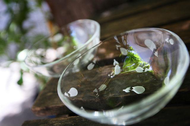 【福岡・サンドブラスト】好きな器を選べます!サンドブラストで、ガラスに彫刻しよう