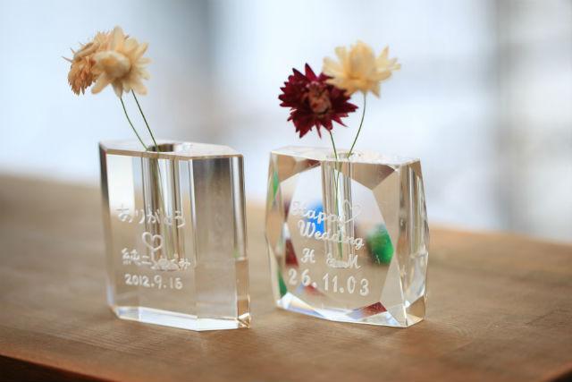 【福岡市・サンドブラスト】キラキラガラスの花器を作ろう!フラワーベース