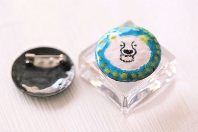【福岡市・ガラス細工】おしゃれ上級者におススメ!ペンダントトップorブローチ作り(銅板+ガラス)