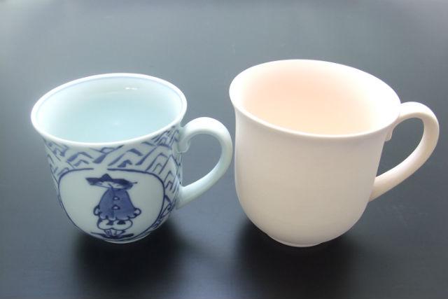 【佐賀県・有田・陶芸体験】お茶の時間を自分らしく。らく焼への絵付け体験・マグカップ