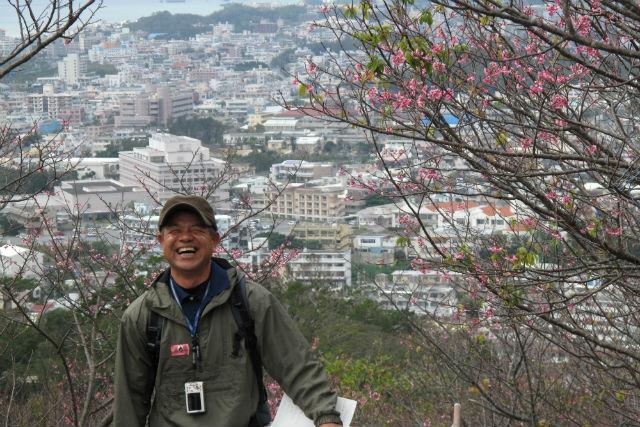 【沖縄・名護市・ガイドツアー】心を癒すツアー。「名護城(ナングスク)の自然を体感」コース