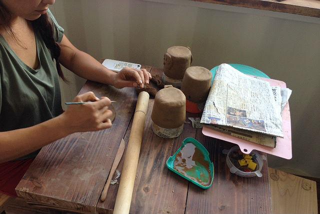 【沖縄・南城市・陶芸】好きな物を作れる!自由気ままな沖縄陶芸を体験