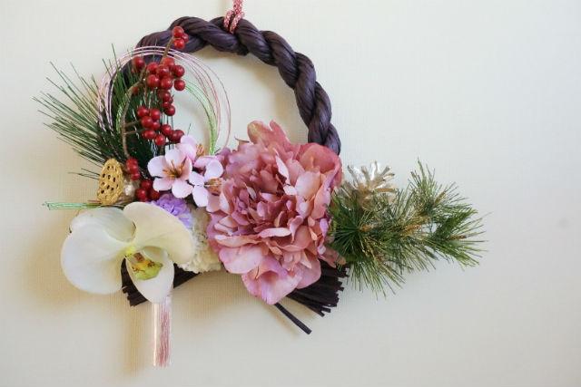 【札幌・フラワーアレンジメント】新しい年をステキに彩る!お正月飾りレッスン