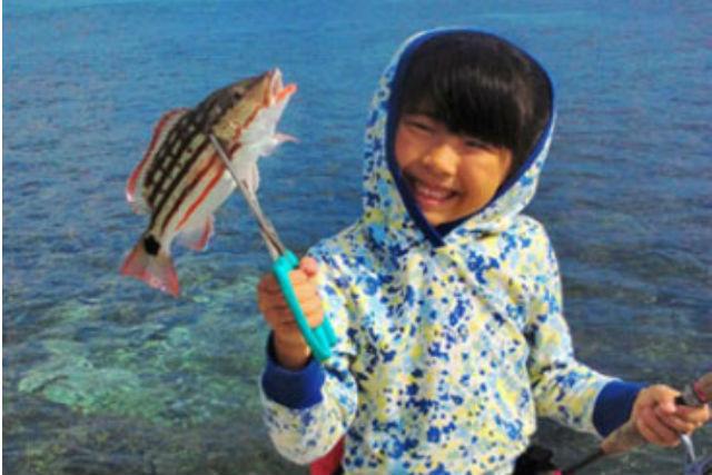 【沖縄・石垣島・釣り・半日】貸切り船で楽しもう!ミドルキャスティング・チャータープラン