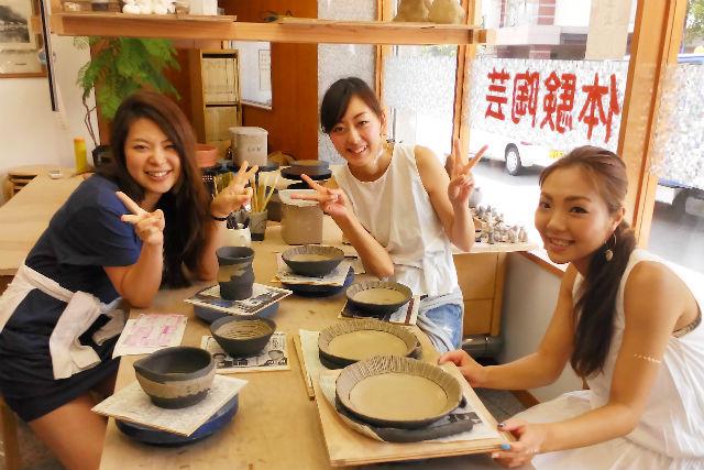 【静岡・熱海・陶芸体験】土から作陶、好きなものをつくろう!手びねりコース