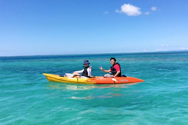 【沖縄本島北部・シーカヤック】サンゴの海を冒険!お子様から参加できるシーカヤック+シュノーケリング