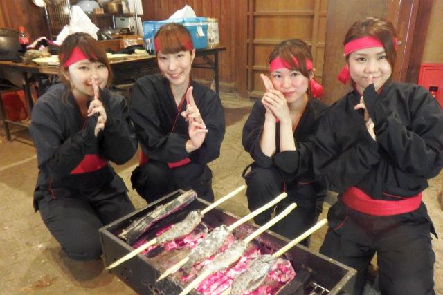 【熊本・八代郡・忍者体験】手裏剣や吹き矢をマスターしよう!忍術体験