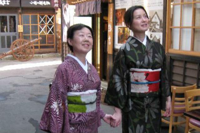 【小樽・着物レンタル】普段使いの着物で小樽へ!散策用着物レンタル・1時間コース