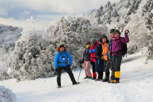 【奈良・三峰山・ガイドツアー】初めての冬山にチャレンジ!樹氷の三峰山登山ツアー