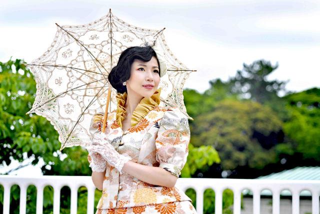 【東京・千代田区・プリンセス体験】憧れのプリンセスに変身!ドレスは一点物の本格仕様