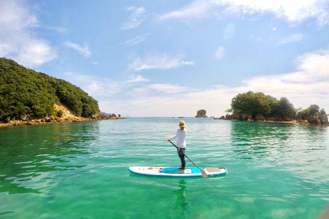 【徳島県・SUP】初心者歓迎!SUPクルージングで海をのんびり楽しもう!