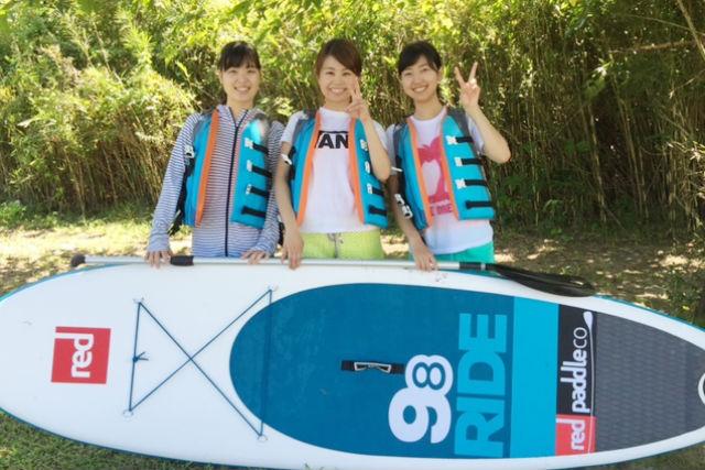 【愛知・犬山・SUP】大満喫の1日体験!木曽川をスタンドアップパドルでクルージング