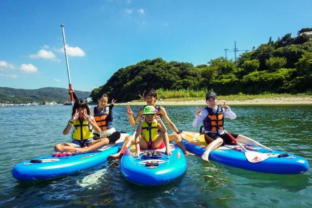 【淡路島・SUP】淡路島でゆったり海上さんぽ!SUP体験・チャレンジコース(60分)