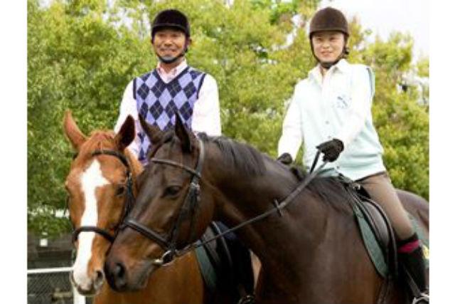 【奈良・天理市・乗馬体験】手ぶらでOK!平日限定、はじめての乗馬プラン