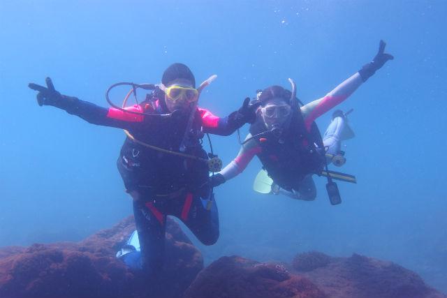 【福岡・天神駅・体験ダイビング】海の世界を覗きに行こう!初めてでも安心の体験ダイビング