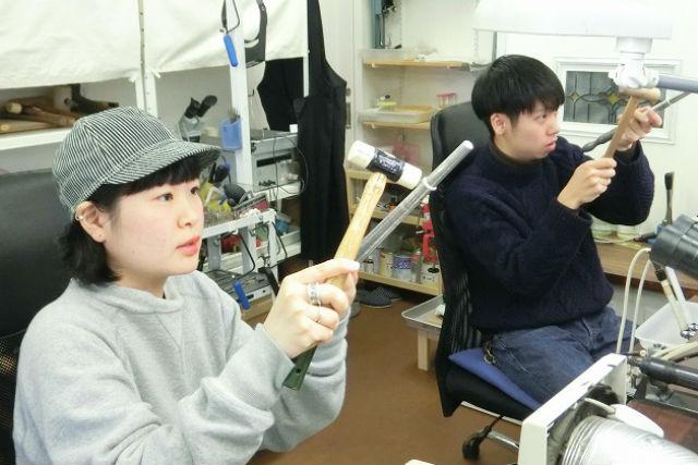 【茨城・シルバーアクセサリー手作り体験】シルバーや真鍮で、オリジナルリングを作ろう!