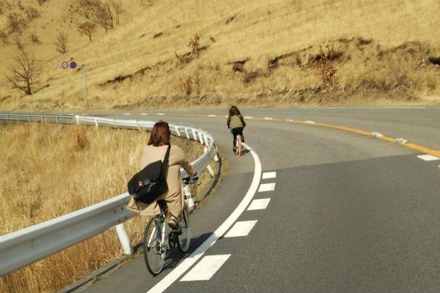 【大分・由布岳・レンタサイクル】温泉の街・別府へGO!由布岳サイクリング(別府方面)