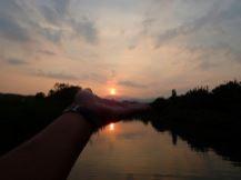 【徳島・SUP】海部川サンセットクルージング!癒されながらエクササイズしよう