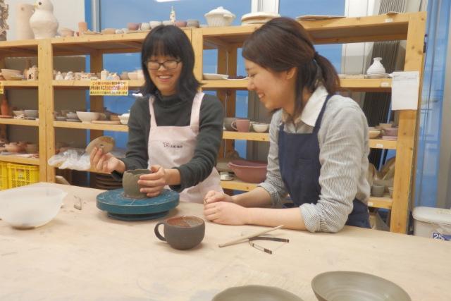 【札幌・陶芸】親子連れにもおススメ!5歳から参加できる手びねり陶芸体験!