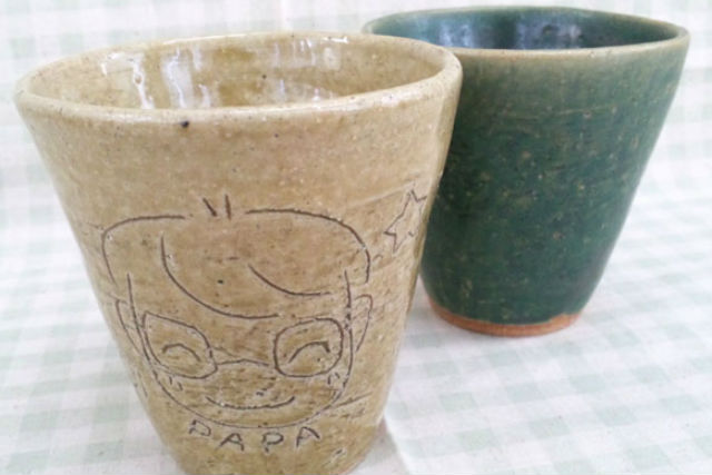 【北海道帯広市・陶芸体験・手びねり】好きな作品を1~2個作れる!手びねり陶芸体験