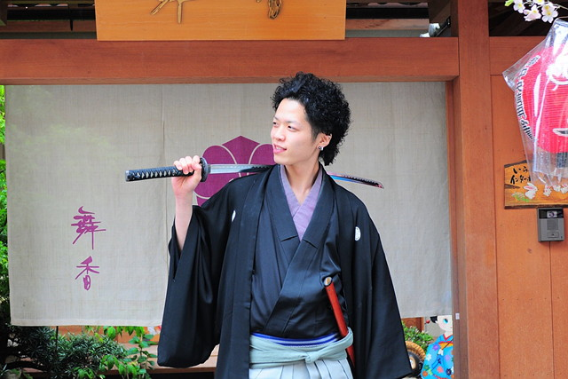 【京都・変身写真】京の町でサムライに変身!写真撮影付きの侍体験