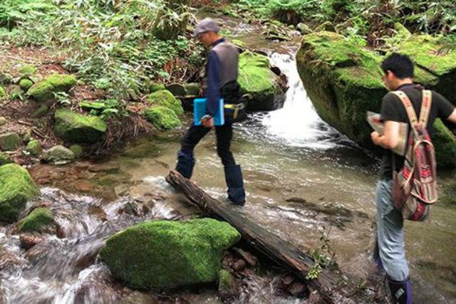 【鳥取・エコツアー】川のはじまりを探しに行こう!雪解け水の森・散策ツアー