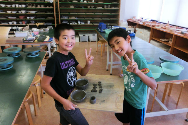 【島根・陶芸体験・子ども向け】のびのびモノ作りを楽しもう!こども陶芸体験