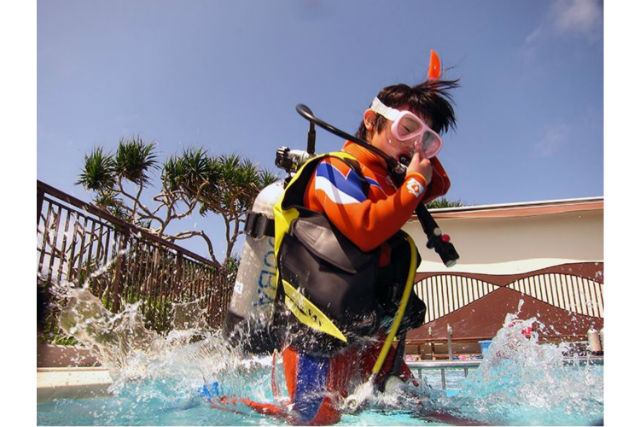 【沖縄・2日・ライセンス取得】バディと潜れるダイバーに!PADIオープンウォーターダイバーコース