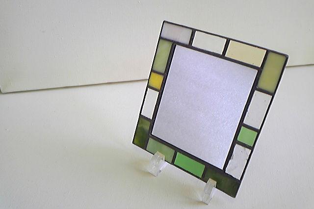 【宮城・仙台市・ガラス細工】ステンドグラスで、高級感あふれる鏡を作ろう!