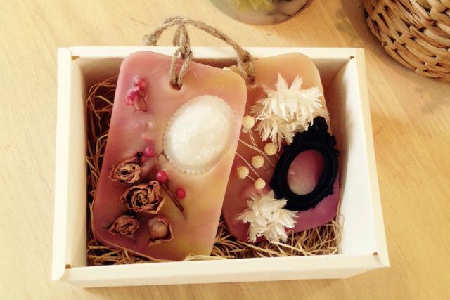 【東京・日本橋・キャンドル作り】花と香りで彩ろう!火を灯さないキャンドル アロマワックスバー