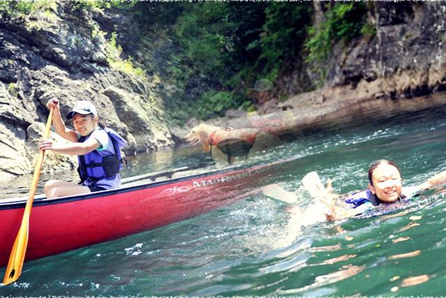 【北海道・札幌・カヌー】どの角度からの景色も美しい!定山渓豊平川カヌーコース