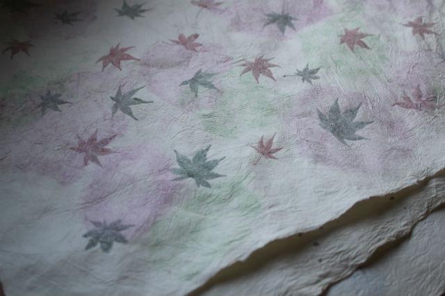 【長野・大町市・伝統工芸】自然の温かみあふれる和紙作品!紙すき体験・本格コース★しおりプレゼント