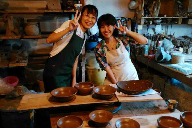 【栃木・陶芸体験・電動ろくろ】ゆるやかに楽しむ陶芸時間。益子焼の器をつくろう