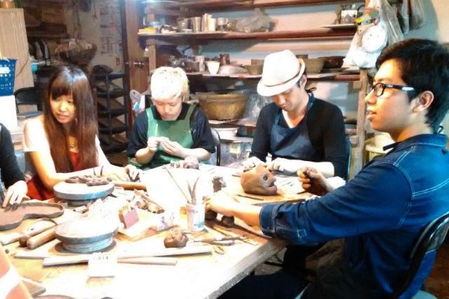 【栃木・陶芸体験・手びねり】思いのままをカタチに!心をゆるめて楽しむ益子焼陶芸体験