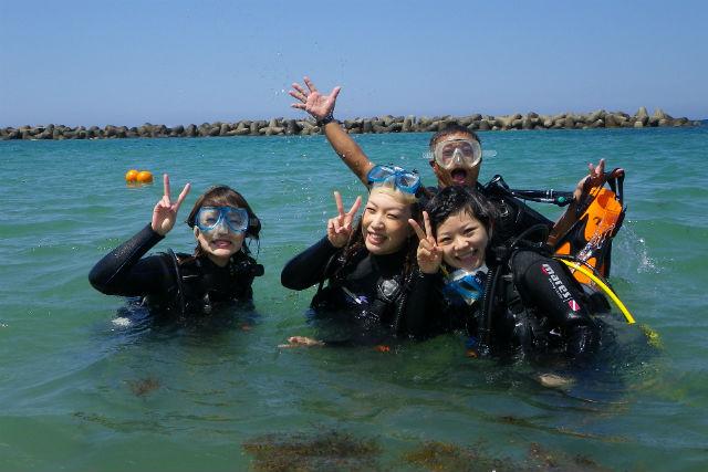 【広島・体験ダイビング】島根へ日帰り体験ダイビング!近くて美しい海にダイブしよう