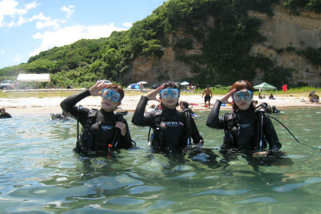 【広島・ダイビング・ライセンス取得】現地の宿で1泊!島根の海でダイビング資格を取ろう!