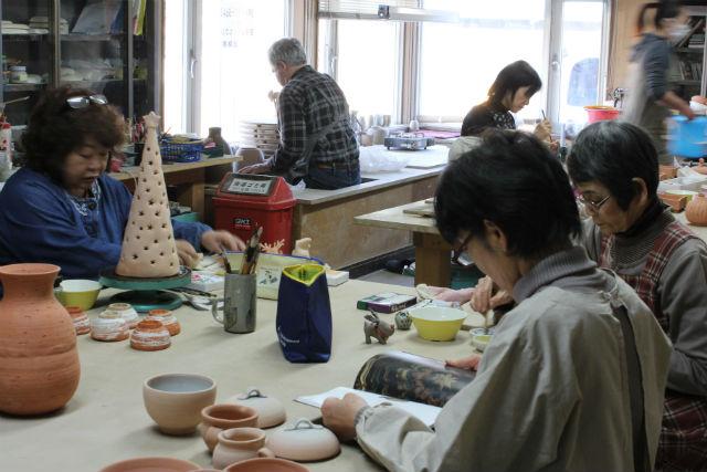 【北海道斜里郡・陶芸体験・電動ろくろ】思い通りの形が作れます!電動ろくろ