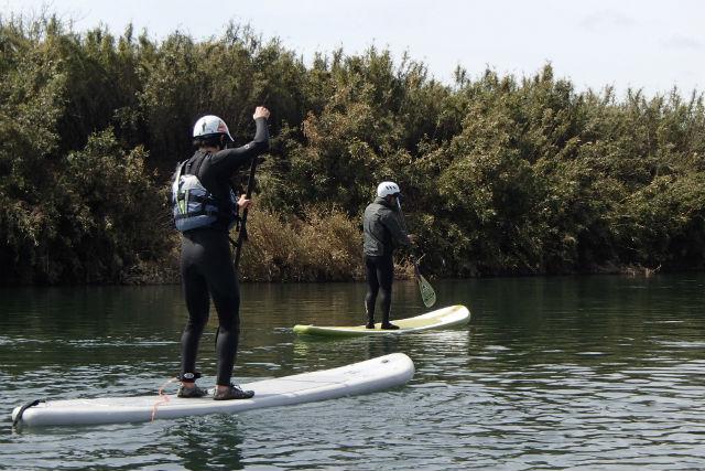 【茨城・那珂川・SUP】初心者から楽しく体験!那珂川でSUPにチャレンジしよう!