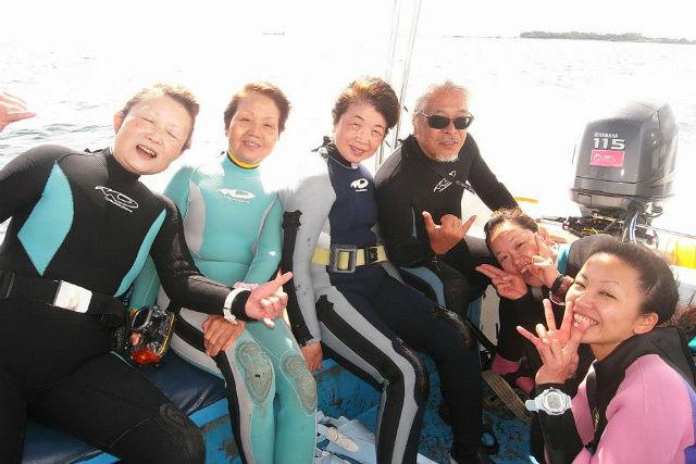 【屋久島・ファンダイビング】魚種の豊富さ日本一の海へ!ボートファンダイビング
