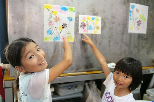 【熊本・阿蘇・紙すき体験】色紙・ハガキを作ろう!白川水源で紙すき体験