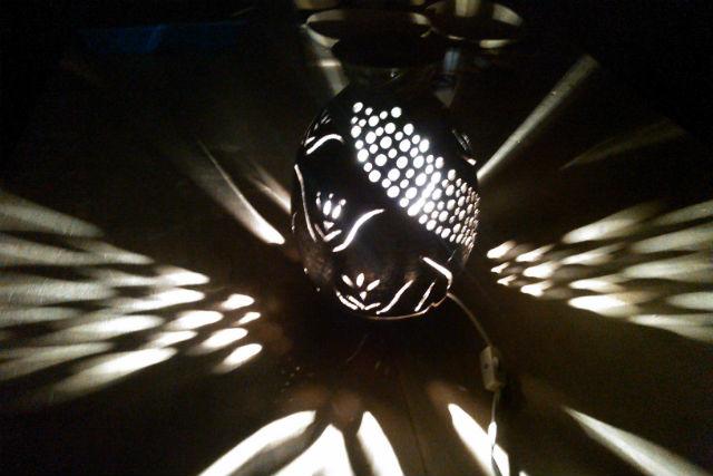 【佐賀市・陶芸・ランプシェード】インテリアに柔らかな灯りをプラス!陶器でつくるランプシェード