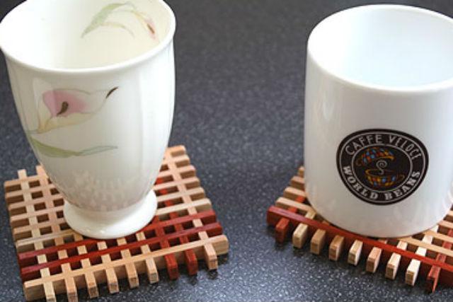 【秋田・横手市・木工体験】組子細工で作るコースター!匠の技を現代風にアレンジ
