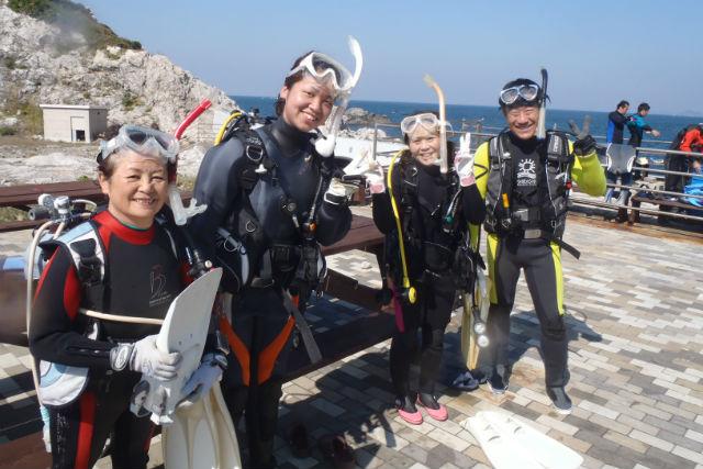 【奈良・体験ダイビング】和歌山県白崎へご案内!ダイビングの世界に飛び込もう
