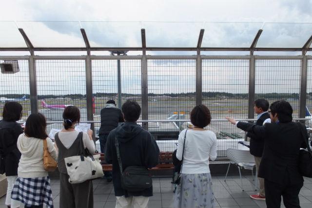 【千葉・成田・ガイドツアー】知られざる魅力をご紹介!成田空港見学ツアー(平日開催・グループ向け)