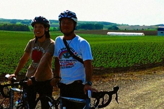 【札幌近郊・サイクリング・半日】完全送迎&大浴場サウナ付き!北海道旅行にぴったりのロードバイク旅!