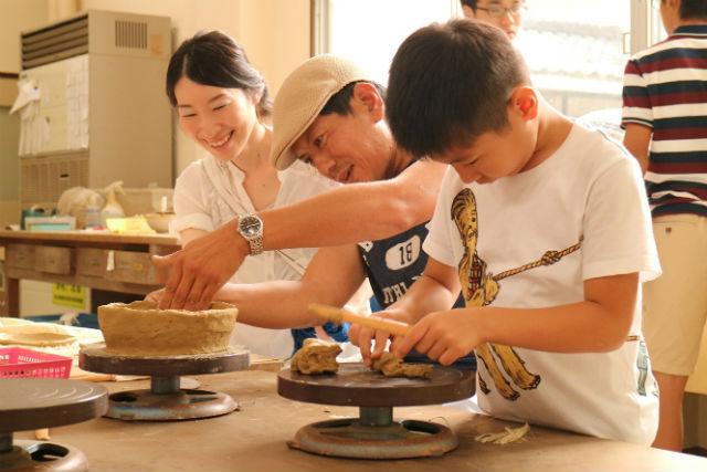 【福井・陶芸体験・手びねり】ぬくもりを感じる陶芸作品をつくろう!手びねり体験コース