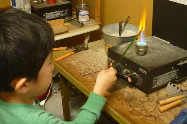 【宮城県・とんぼ玉作り】とんぼ玉作家に習うガラス細工!マイペースに手作り体験を満喫しよう