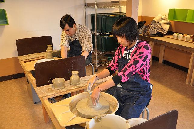【栃木・陶芸体験・電動ろくろ】益子で電動ろくろを楽しもう!伝統ある相玄窯での陶芸体験
